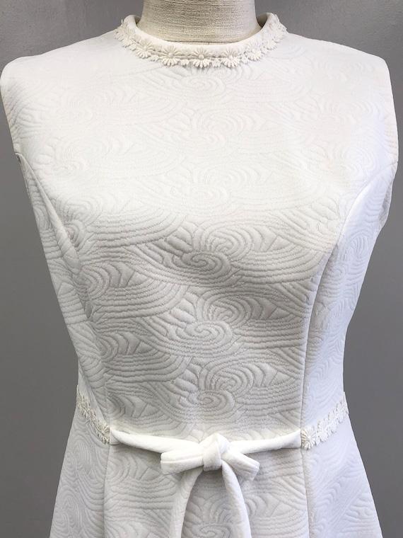 Vintage 60's/70's White Dress - image 3