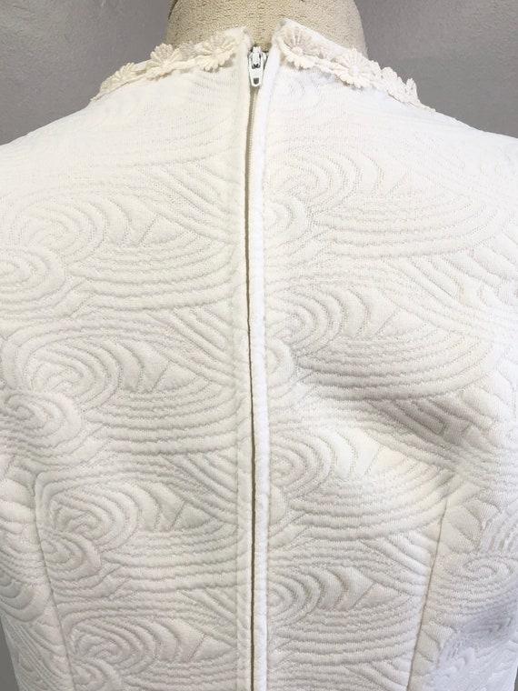Vintage 60's/70's White Dress - image 8