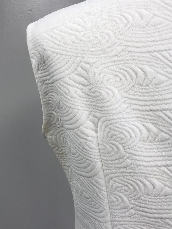 Vintage 60's/70's White Dress - image 9