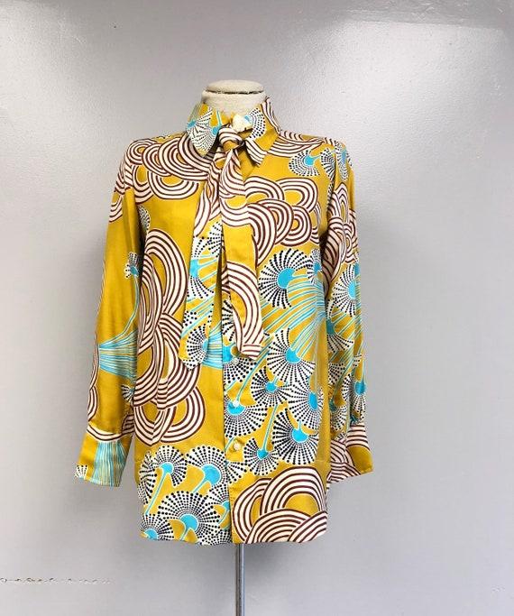 1970's Silk Blouse