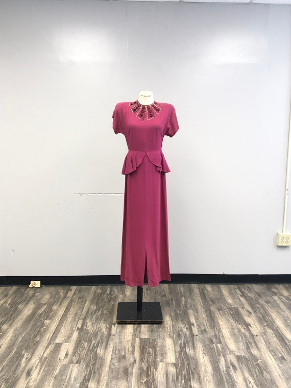 1930's/40's Gown