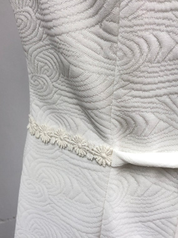 Vintage 60's/70's White Dress - image 5