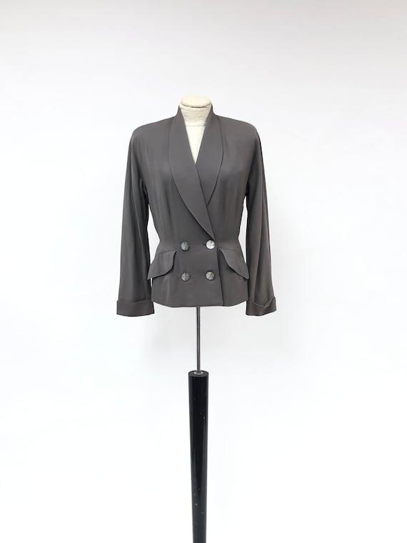 Vintage 1940's Peplum Suit Jacket
