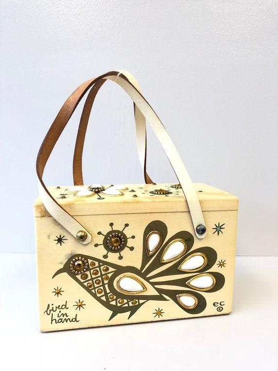 Enid Collins Box Handbag