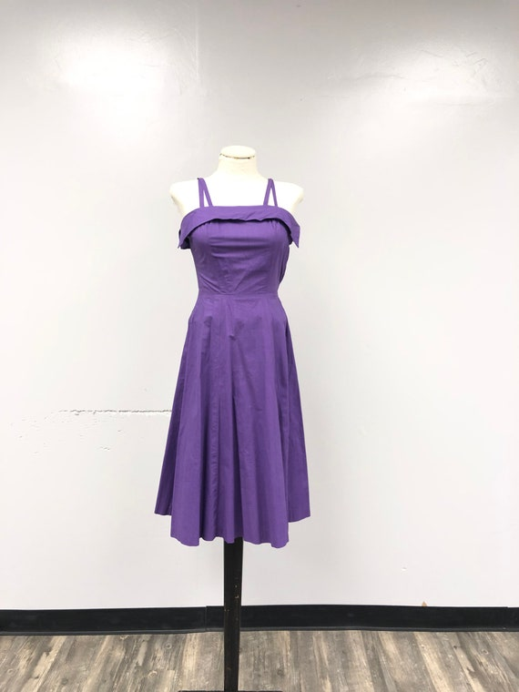 1950's A-line Sun Dress