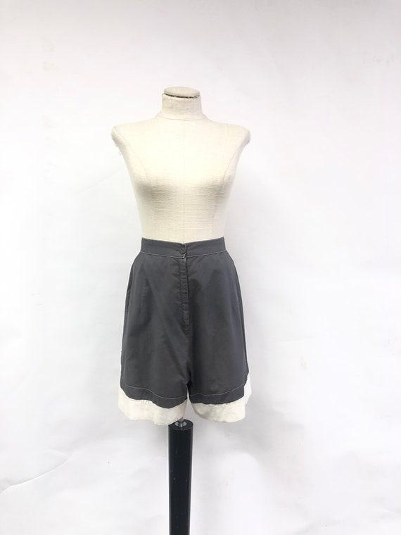 1950's Grey Shorts - image 1
