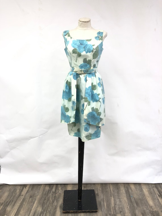 1950's/60's Taffeta Dress