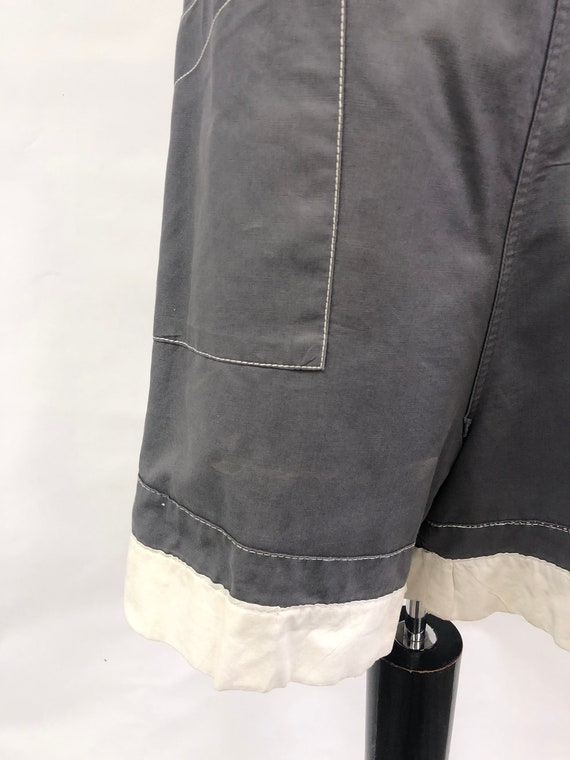 1950's Grey Shorts - image 9