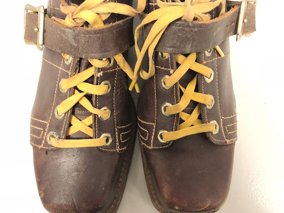 1970's Brown Leather Boots - image 7