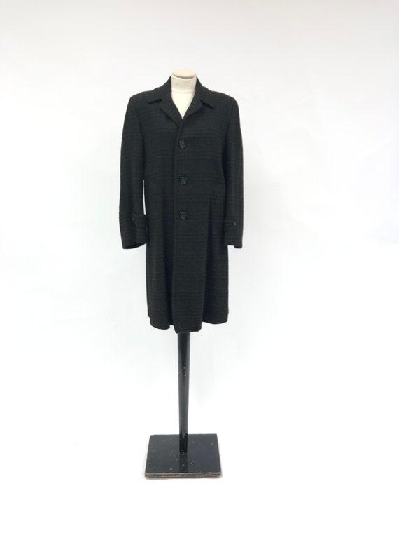 Vintage 1960's Tartan Coat