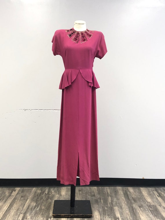 1930's/40's Gown - image 2