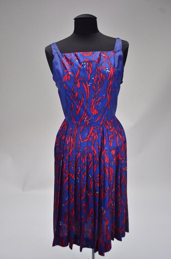 1960's/70's Two-Piece Silk Dress - image 6