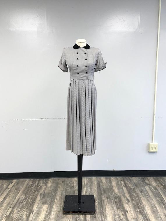 1940's/50's Plaid Dress with original tags