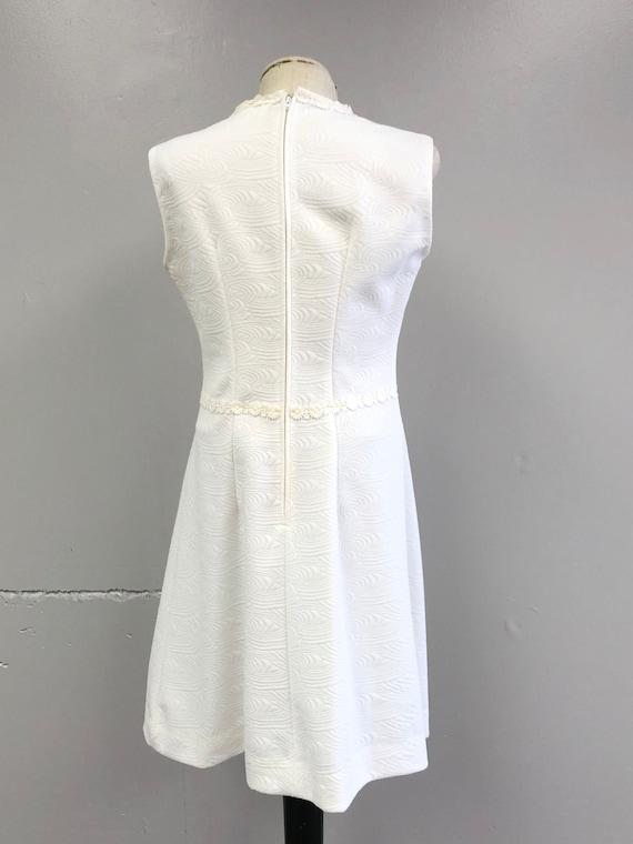 Vintage 60's/70's White Dress - image 7