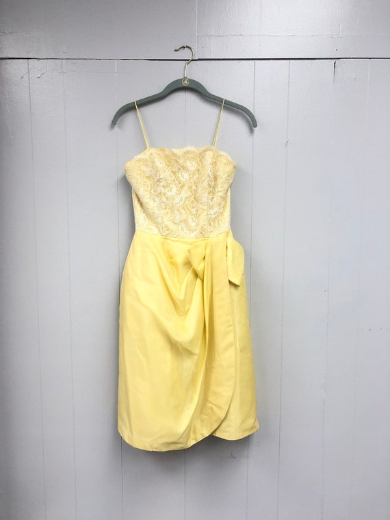 Vintage 1960's Evening Dress