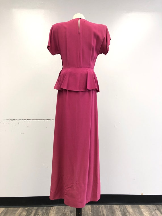 1930's/40's Gown - image 8