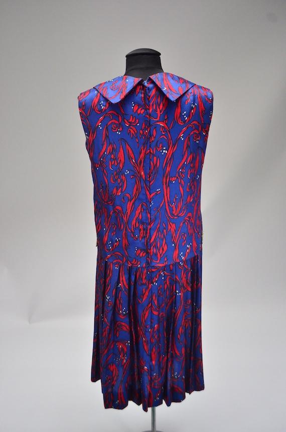 1960's/70's Two-Piece Silk Dress - image 4