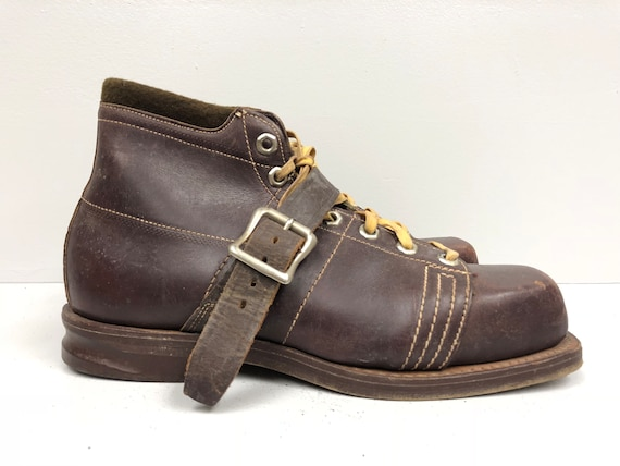 1970's Brown Leather Boots - image 4