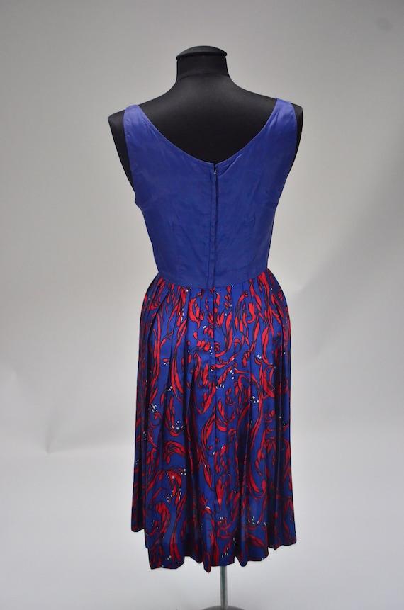 1960's/70's Two-Piece Silk Dress - image 5