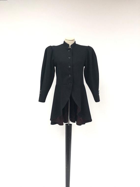 Vintage 1940's Peplum Wool Jacket