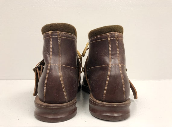 1970's Brown Leather Boots - image 5