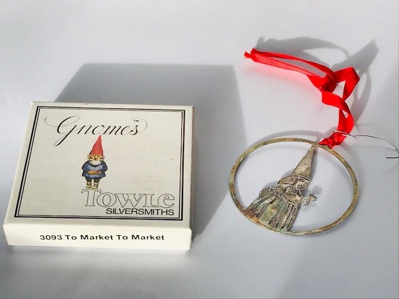 Vintage gnome ornament vintage Uniboek gnome ornament Kabouter tomte ornament,Flower Girl