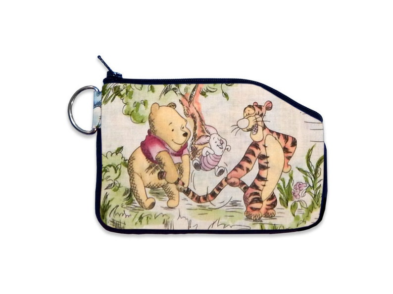 0919723badca Disney Classic Winnie the Pooh Piglet Tigger Wallet Coin Pouch