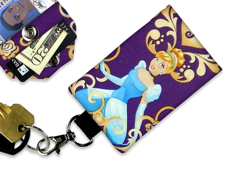 Disney Princess Lanyard with Card Holder