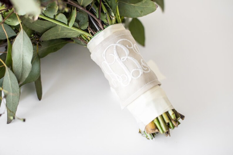 Embroidered Bouquet Wrap image 0