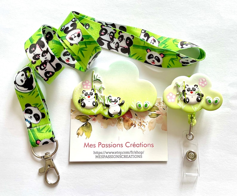 midwife ...... childcare assistant coiler for nurse neck circumdrisk Panda theme Badge