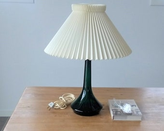 Green Table Lamp Etsy