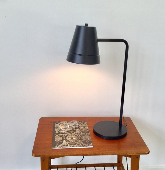 Large black desk lamp designed by Frandsen.dk Office lamp. Danish lighting