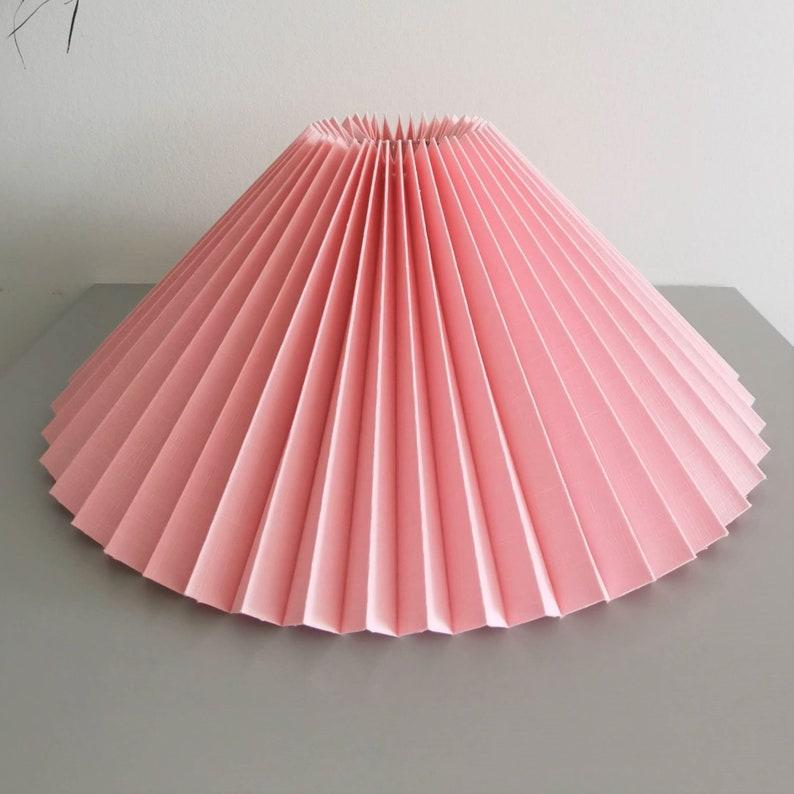 Mezzo nuovo Gerranium rosa lico coltello plissettato / ombra 3pJbhl5E
