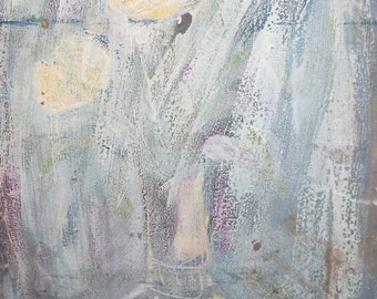 Vintage oil painting still life abstract