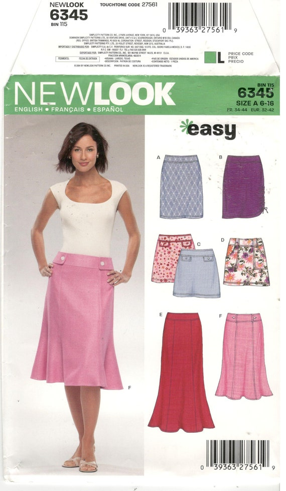 Women's Clothing New Look Skirt 14 Last Style Skirts