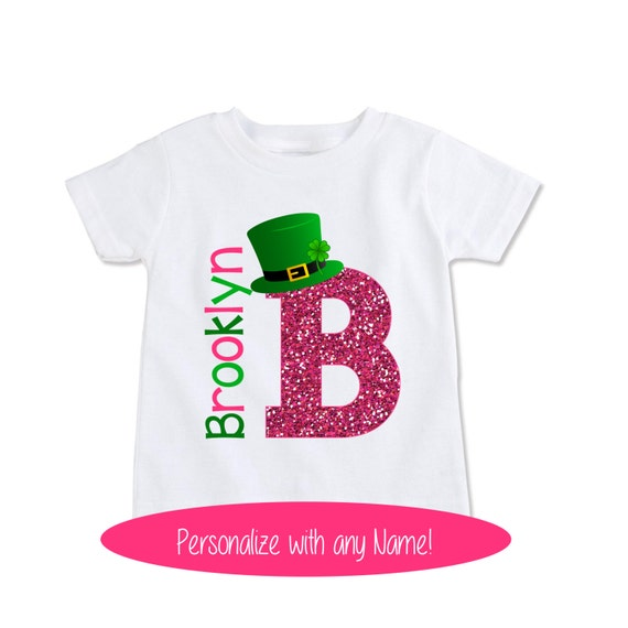 e57a013c St Patricks Day Baby bodysuit Personalized Kids St | Etsy