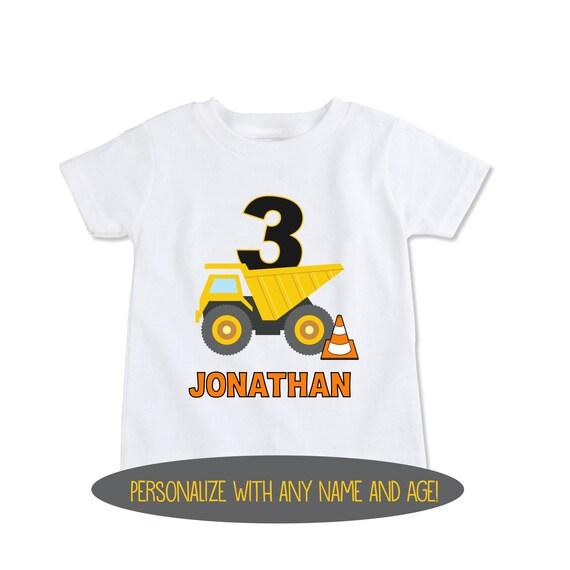 Tstars Birthday Boy Gift for Boys Big Truck Birthday Toddler Hoodie