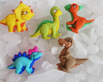 Animal Fasteners For Children Clothes Pack of 100 Assorted Mix Colours Plastic Cat Buttons
