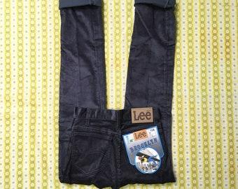 Vintage Cords Corduroy Jeans Cord Trousers Pants 1970s 70s Lee Levis Grey S