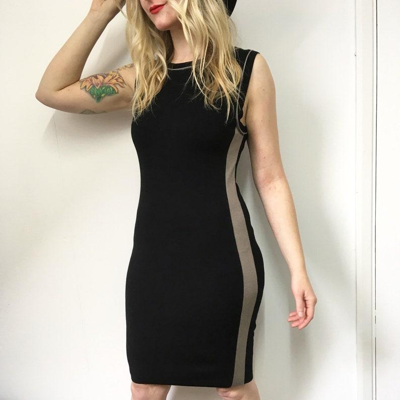9b4bf41b6c37 Vintage Black Dress Little Black Dress Marc Cain 90s Dress | Etsy