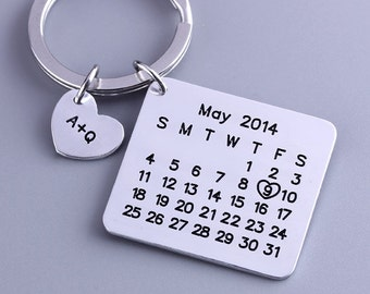 Image result for Personalized Calendar Keychain