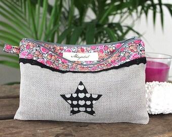 Linen bag handmade LILI