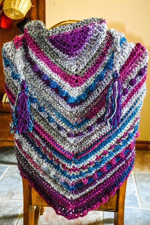 Hand Crocheted Wrap/Shawl