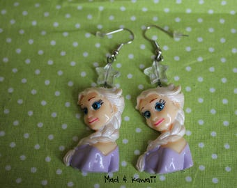The snow Queen earrings