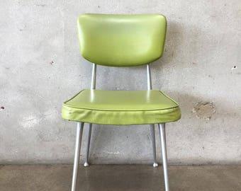 Cast Aluminum 1950's Desk Chair (22Z1XY)