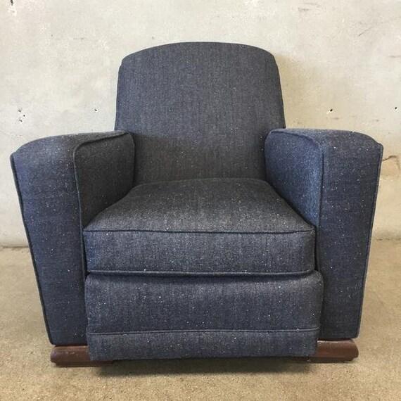 Charmant 1930u0027s Art Deco Club Chair GQNDWQ | Etsy