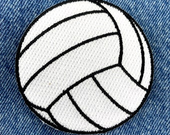 VOLLEYBALL PATCH iron-on embroidered applique beach volley ball team uniform emblem