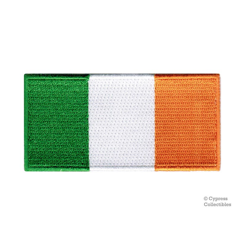 Ireland Official Flag Embroidered Patch Highest Top Quality