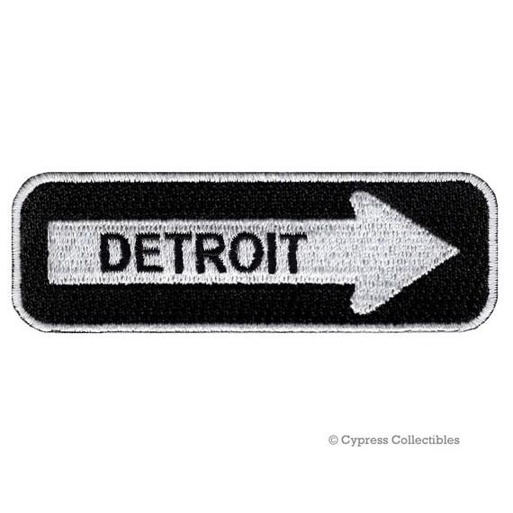 Detroit Wrap Black Patch