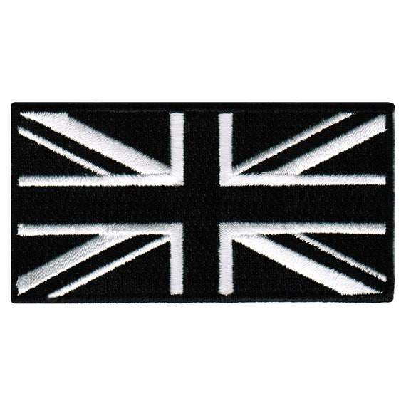 Union Jack National Flag Patch British UK Country Embroidered Iron On Applique